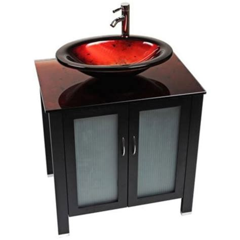 red glass bathroom accessories 17 best images about glass bathroom vanities on pinterest