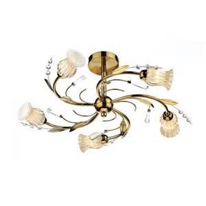 gold ceiling light gold evie ceiling light evi0535 5 light ceiling light