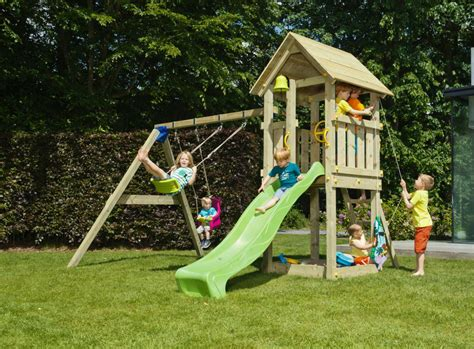 climbing frame with slide and swing kiosk with slide and swing climbing frame green hands