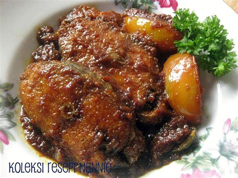 Minyak Ikan Tenggiri resepi nennie khuzaifah ikan tenggiri masak kicap berempah