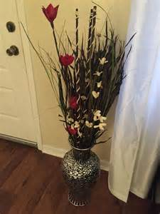 Flowers For Floor Vases by Floor Vase The Floor Vase Was Purchased From Ross As Well As The Decorative Flowers And