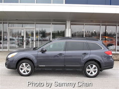 Subaru Outback 3 6r Limited Review by Canadian Auto Review 2013 Subaru Outback 3 6r Limited Review