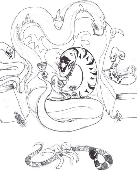 lego ninjago fangpyre coloring pages welcome to our cave by fairytalekitty on deviantart