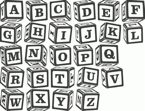 Baby Block Letters Font Generator