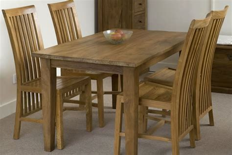 small wooden dining room table teak dining table