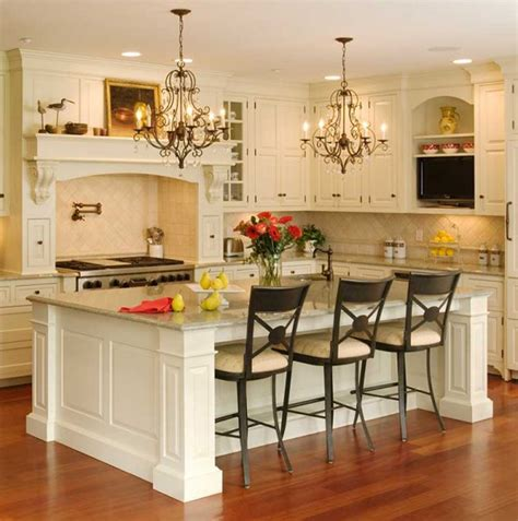 White Kitchen Island by Kitchen Extraordinary Kitchen Themes And Modern White
