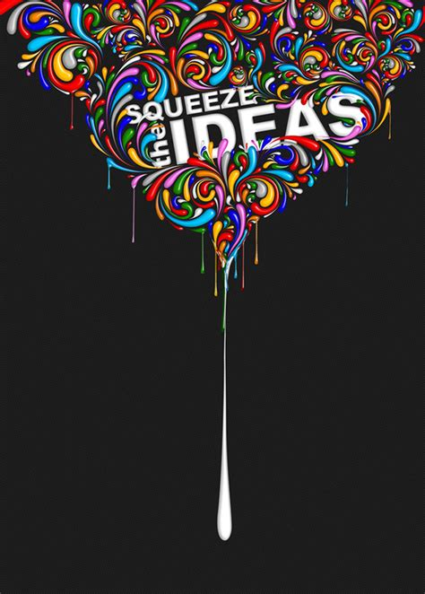 graphic design ideas squeeze da ideas