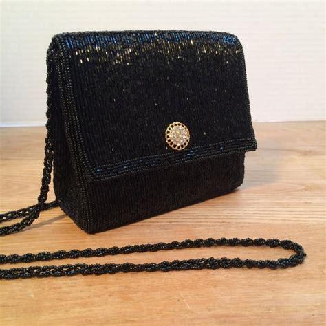 la regale beaded purse la regale vintage purse black bugle beaded evening bag