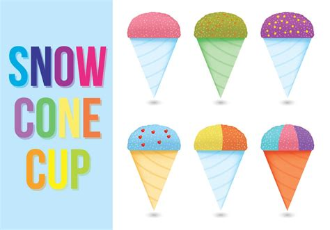 snow cone snow cone cup vectors download free vector art stock