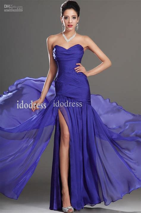 Sera Top Purple By Riamiranda blue sweetheart evening dresses 2014 sheath column chiffon