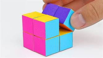 How To Make Cubes Out Of Paper - how to make an infinity cube out of paper