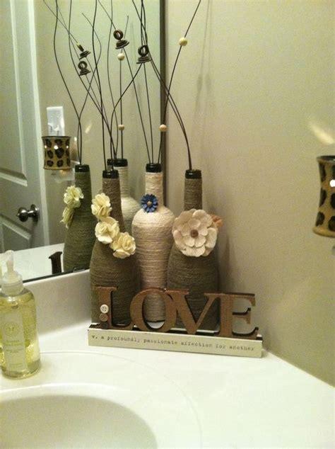 diy home ideas dekorieren die besten 17 ideen zu weinflaschen dekorieren auf