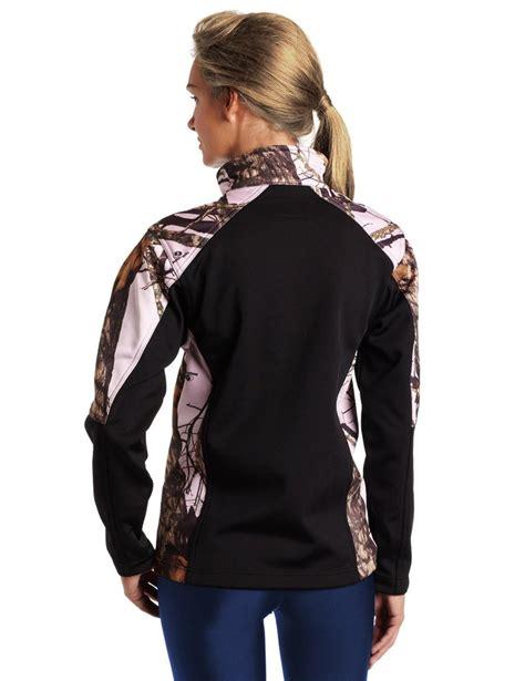 pink mossy oak jacket mossy oak windproof fleece jacket pink snow black huntress