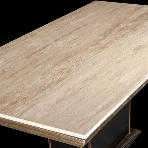 travertine dining tables travertine marble dining table at 1stdibs