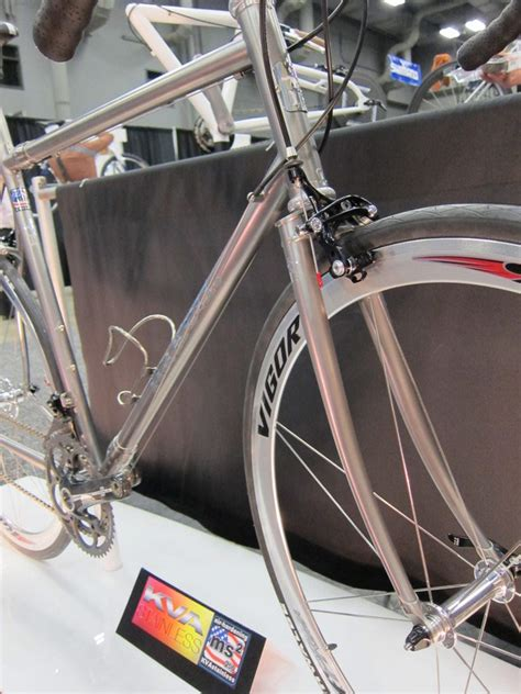 Handmade Steel Bicycle Frames - kva alchemy frames for top bike messengers road bike