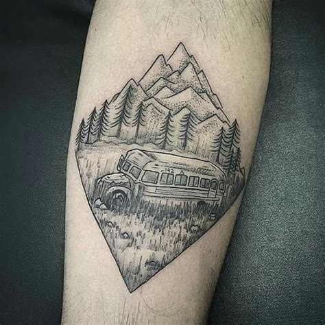 tatouage into the wild