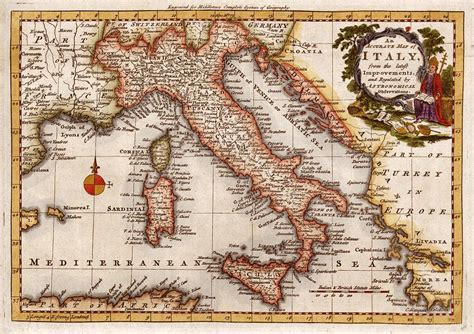 cities of southern italy classic reprint books stock images high resolution antique maps of europe