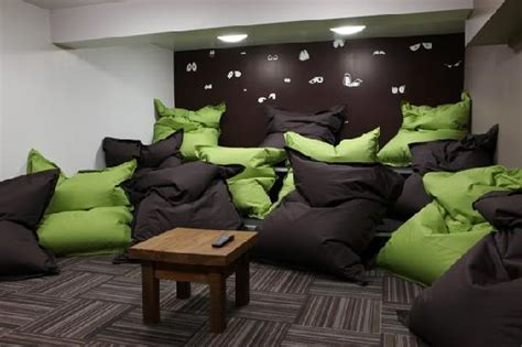 living room bean bags chill out room picture of euro hostel newcastle