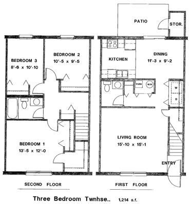 three bedroom townhomes three bedroom townhome for rent shelbyville town houses