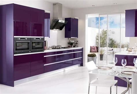 purple kitchens shades of purple in the interior ideas for home garden