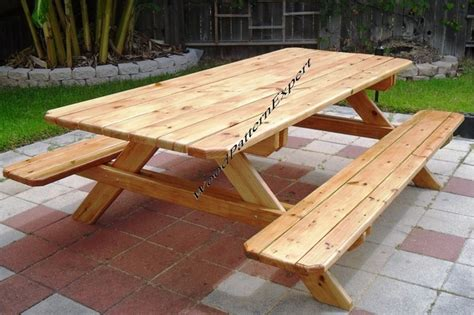 how big is a standard picnic table picnic table family size park style standard 7 with