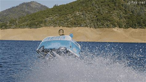 motorboat kitty flying water car gifs find share on giphy