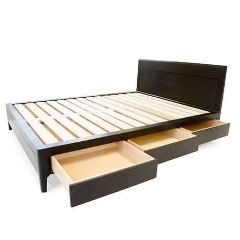 walnut platform bed ebonized walnut storage bed platform bed no 2