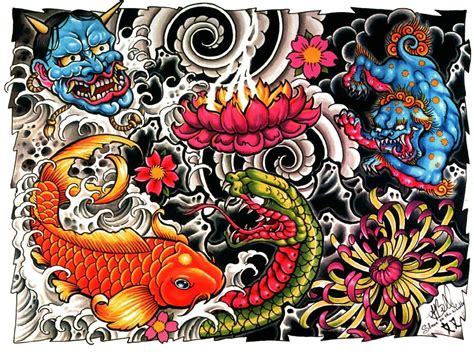 tattoo backgrounds design wallpapers wallpaper cave