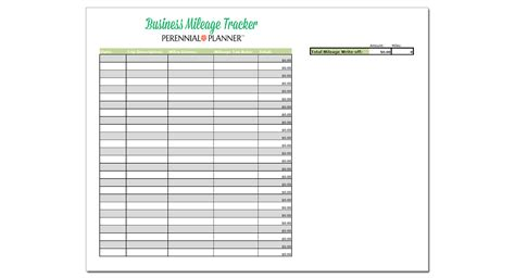 business mileage template business mileage spreadsheet spreadsheets