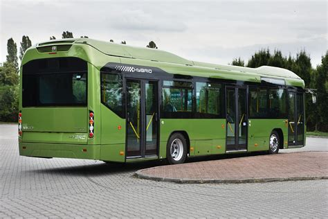 volvo  hybrid city bus launched allaboutbuses