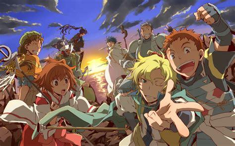 anime adventure fantasy 10 melhores animes de fantasia estilo rpg