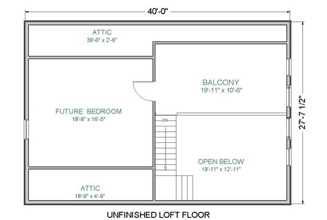 dream open floor plans with loft 20 photo house plans