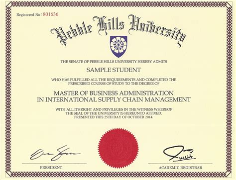 masters degree certificate template master degree certificate sle image collections