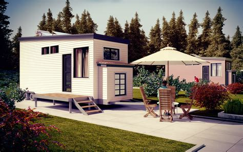 tiny park model homes steel frame green terra homes
