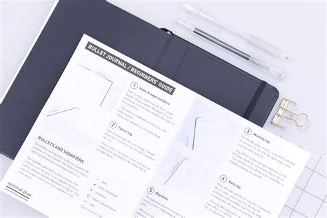 bullet journal tips how to start a bullet journal tips free printable guide