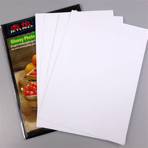 staples a4 photo quality matt inkjet photo paper 100gsm 100 water resistant jetland inkjet high quality glossy