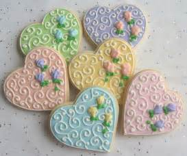 decorated cookie favors wedding