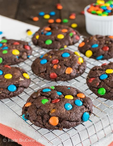 chocolate candy cookies inside brucrew life