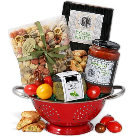 Cooking Gifts | cooking gift basket italian by gourmetgiftbaskets com