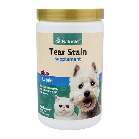 tear stains tear stain supplement powder naturvet