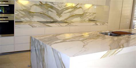 Marble In Kitchen by Marble Kitchen Calacatta Gold Stonemasons Melbourne