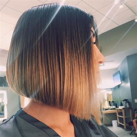 a line ombre 22 most popular a line bob hairstyles pretty designs
