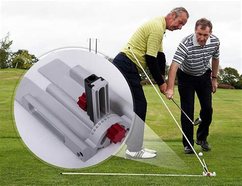 perfect release golf club swing plane trainer aid golf swing plane perfector at intheholegolf com