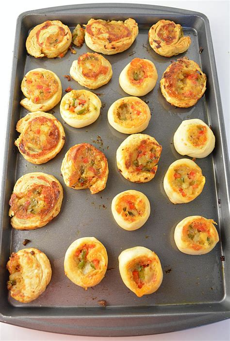 veggie pinwheels party appetizer party potluck recipes