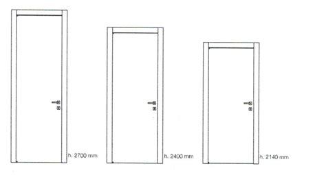 altezza standard porte porte interne easy