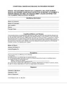 tn conditional waiver and release fill online printable