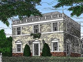 federal style home plan 11619gc 2nd floor master suite