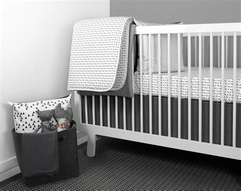 modern crib bedding modern girl nursery bedding thenurseries