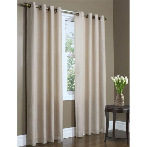 grommet curtain panels rhapsody thermavoile tm grommet curtain panels
