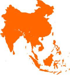 Free Asia Outline Map Vector by Southeast Asia 2 Clip At Clker Vector Clip Royalty Free Domain